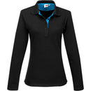 Ladies Long Sleeve Solo Golf Shirt