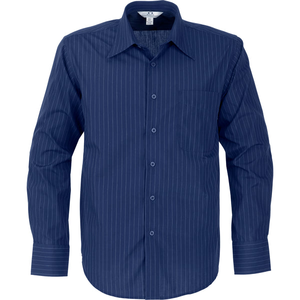 Mens Long Sleeve Manhattan Striped Shirt