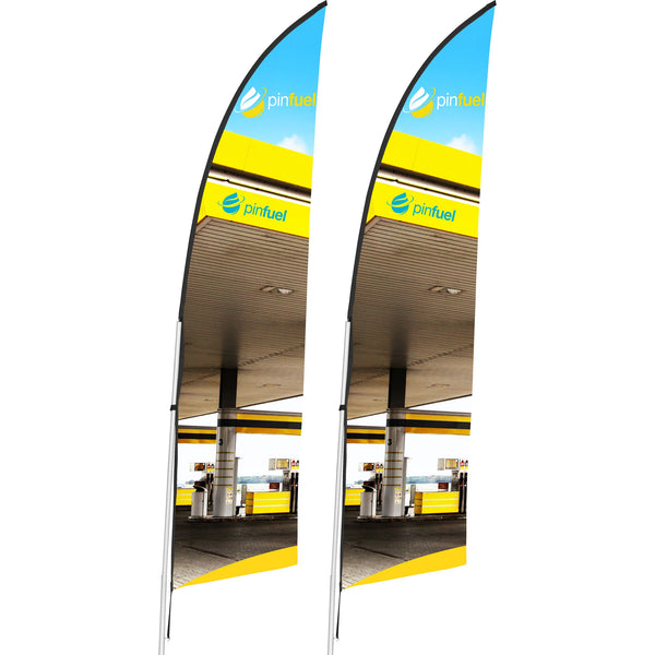 2m Arcfin Banner (Set of 2)