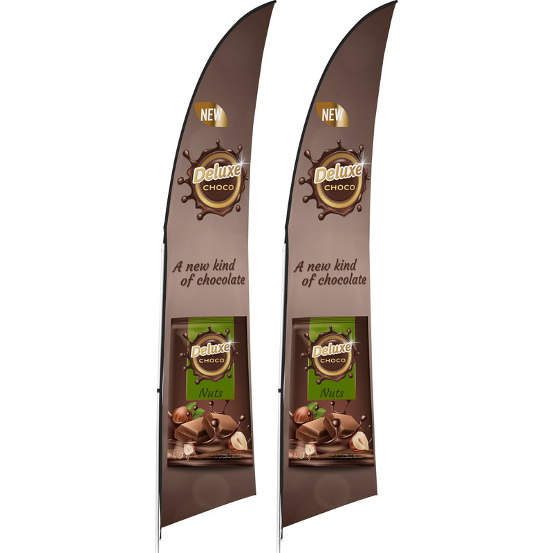 3m Arcfin Banner (Set Of 2)