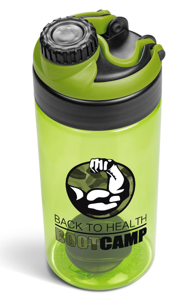 Gianna Water Bottle Protein Shaker - 600ml