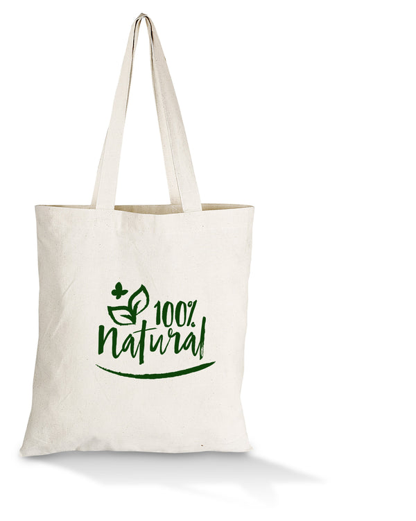 Eco-Cotton Natural Fibre Tote Bag