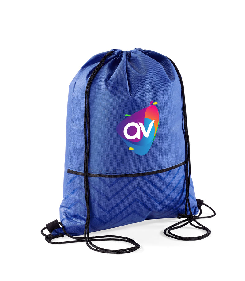 Waverly Non-Woven Drawstring Bag