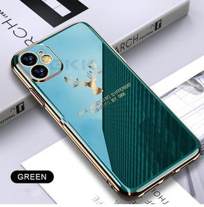 Brand New Luxury Deer Phone Case for iPhone/Huawei - hotbuyy