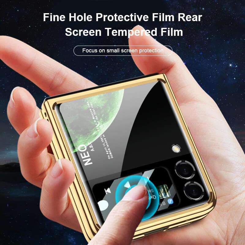 Diamond Pattern Anti-Fall Phone Case With Plating Ring Bracket - hotbuyy