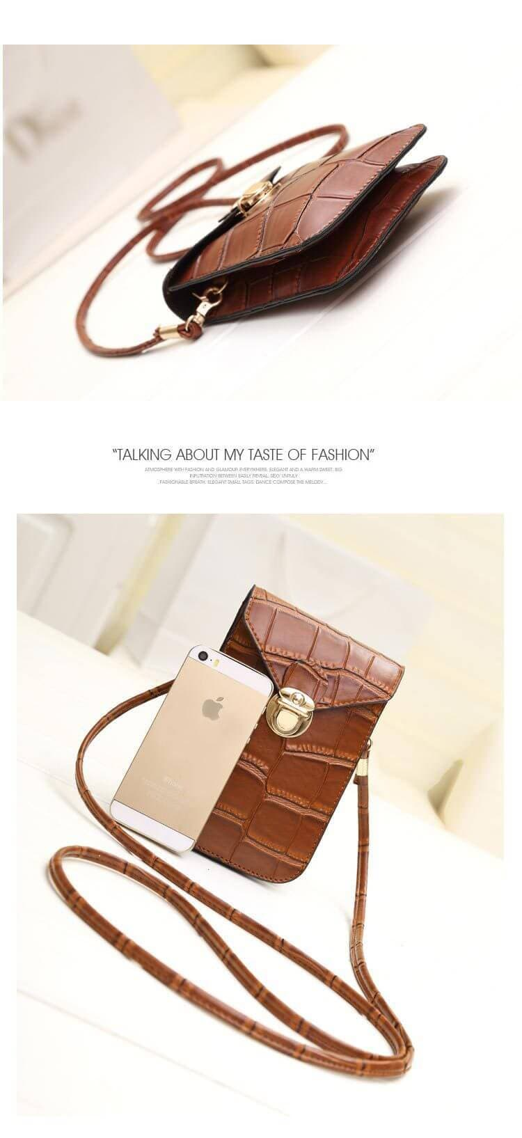 Fashion Mini Vintage Mobile Phone Shoulder Bag Crossbody Bag - hotbuyy