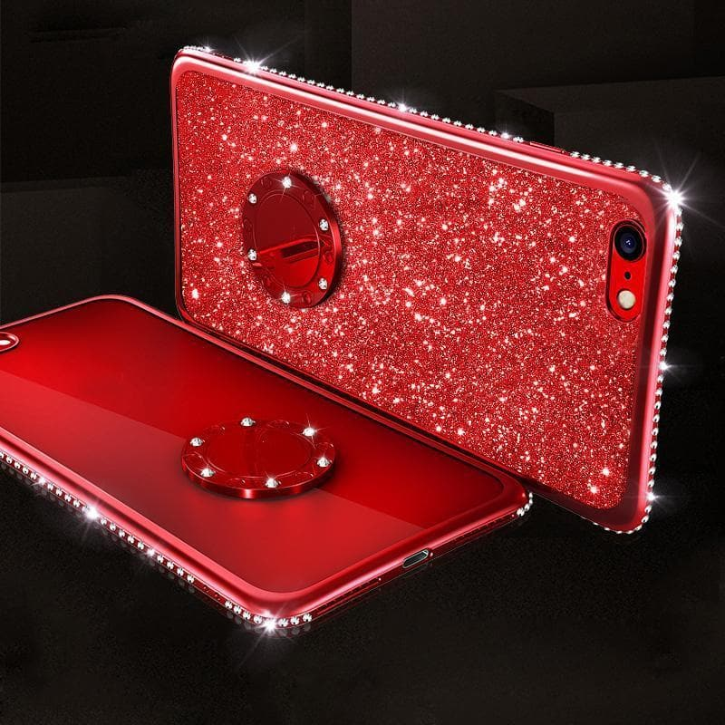 2020 High Quality Glitter Diamond Ring Case - hotbuyy