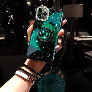 ⭐「Buy One Get Four」Dreamlike Diamond Phone Case for iPhone - hotbuyy