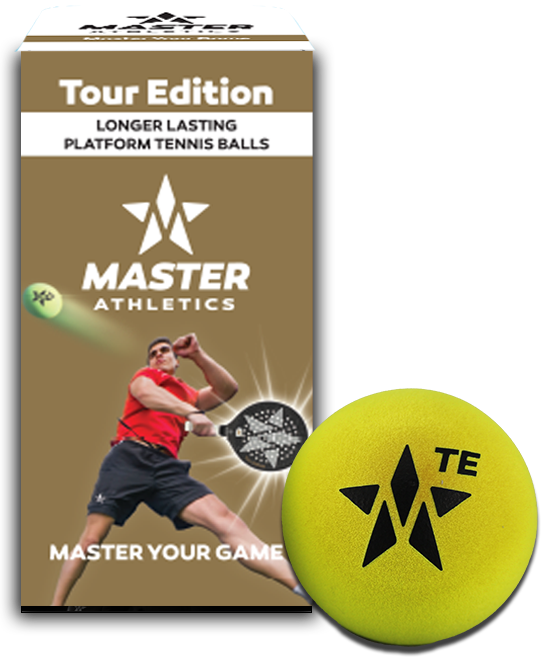 Master Athletics Tour Edition Platform Tennis Balls