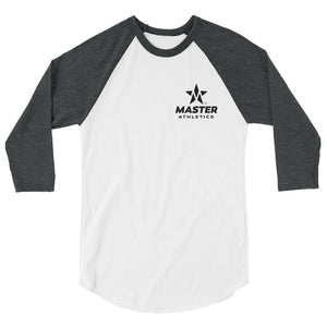 Master Athletics 3/4 sleeve raglan shirt