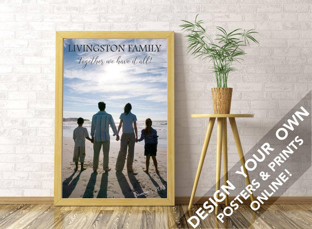 "24"" x 36"" Custom Poster 