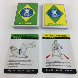 BJJ 50 Exercise Deck