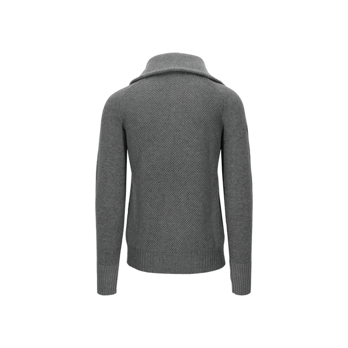 Tufte Rosenfink Half Zip Sweater, Unisex - Grey Melange
