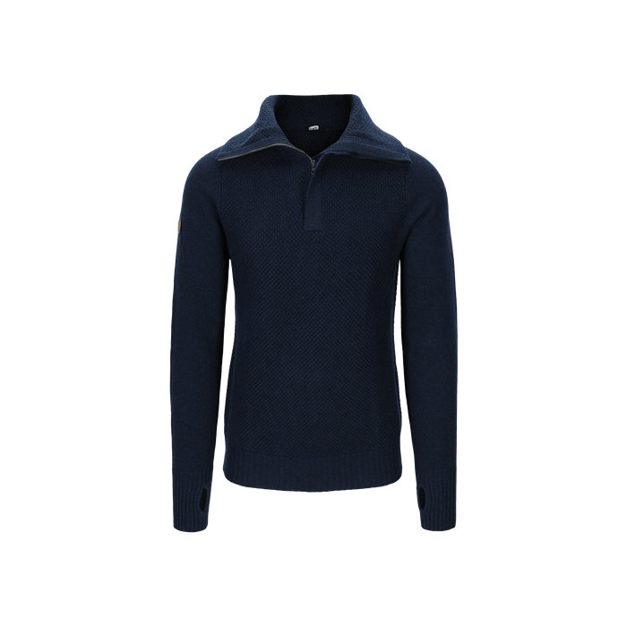 Tufte Rosenfink Half Zip, Unisex - Dark Blue