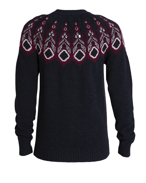 Tufte Rosenfink Pattern Sweater - Sky Captain