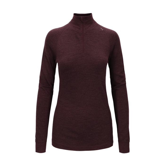 Tufte Womens Bambull Half Zip - Port Royale