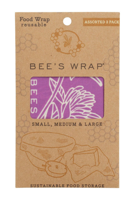 Bee's Wrap 3-pak, Mimi's Purple