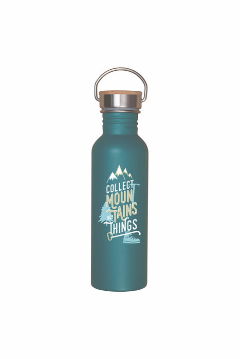 Roadtyping Water Bottle- Collect Mountains