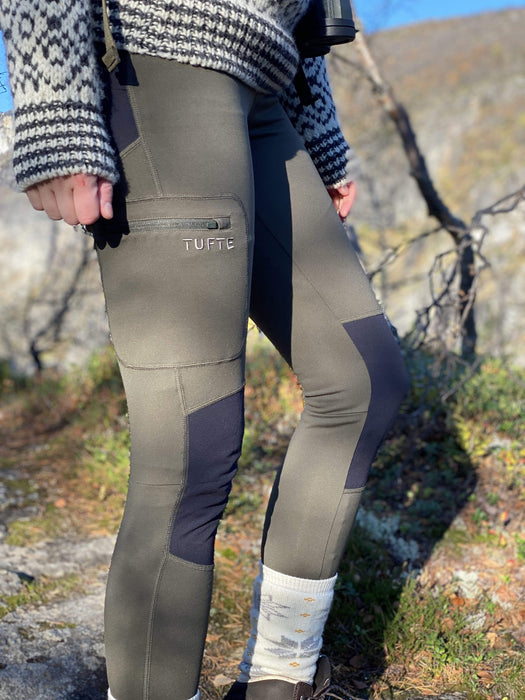 Tufte Skogfrue Hiking Tights - Forest Night