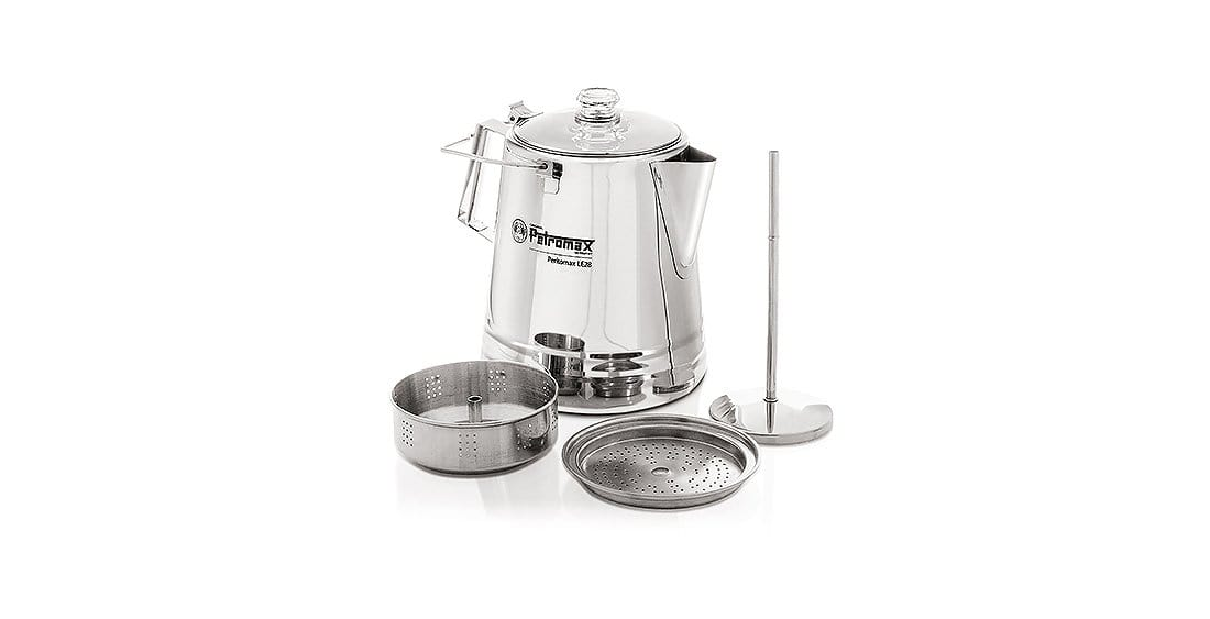 Petromax Percolator Stainless Steel le14