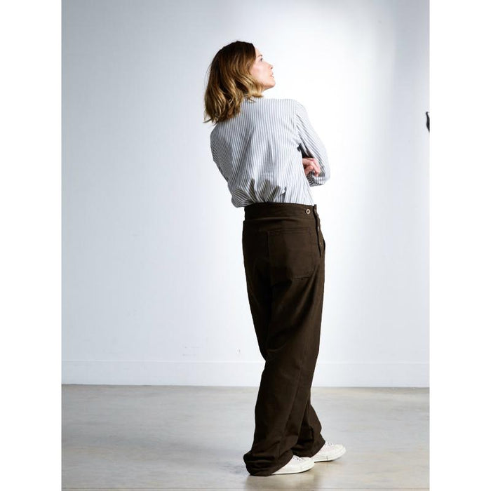 Carrier Company Work Trousers - Tan, Dame