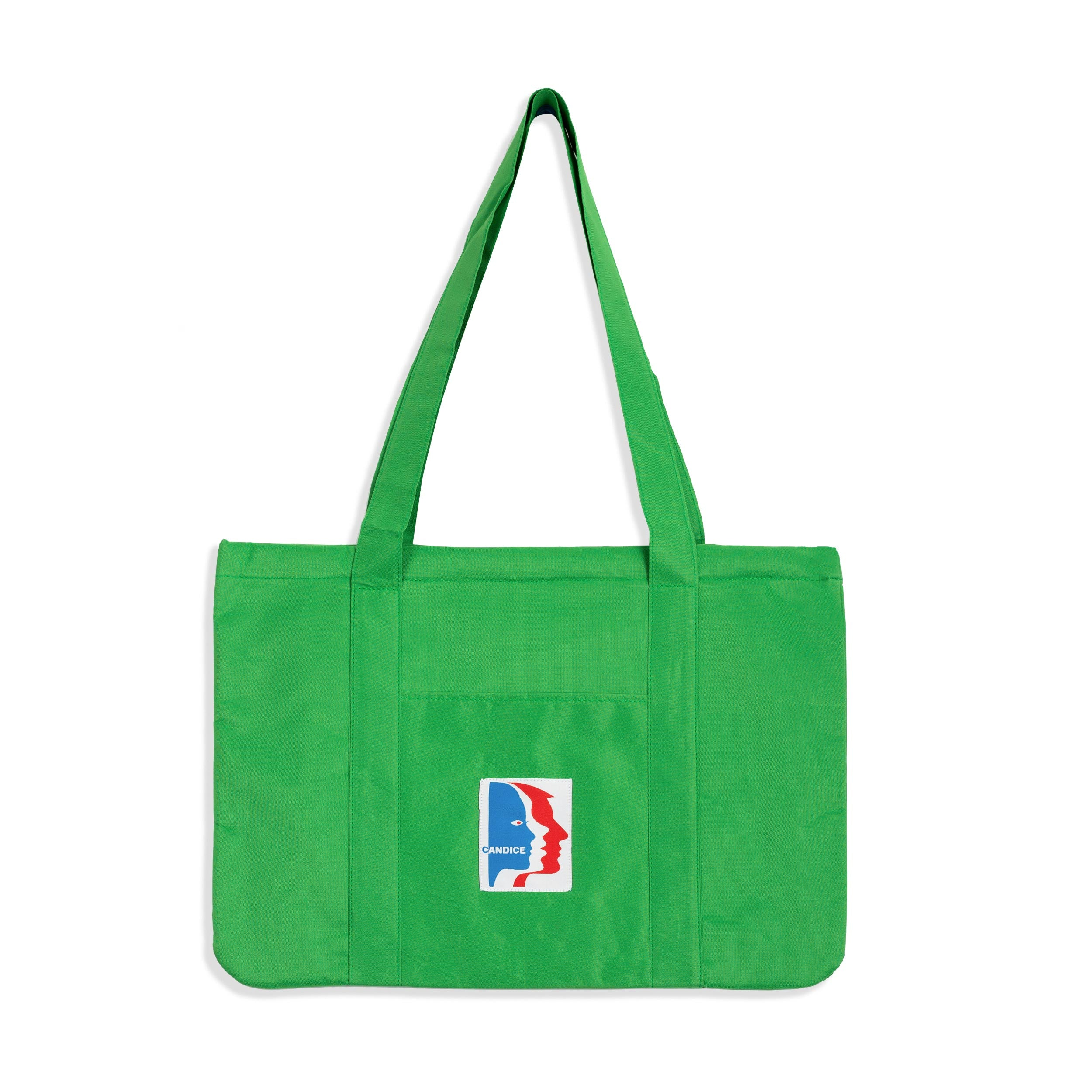 Watchers Beach Tote - Parakeet Green