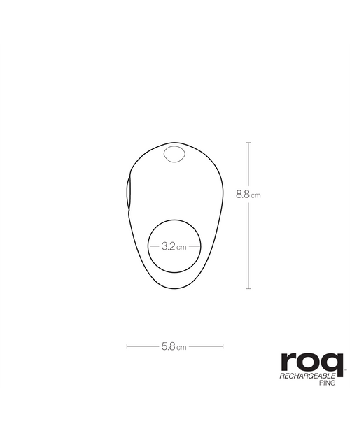 ROQ RECHARGEABLE RING - Vedo Singapore
