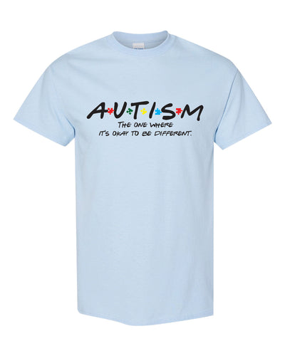Autism Awareness Shirt - Light Blue - AU1