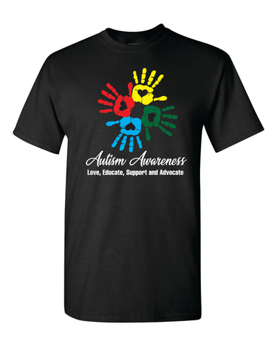 Autism Awareness Shirt - Black - AU2