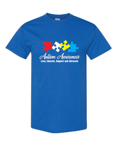 Autism Awareness Shirt - ROYAL- AU3
