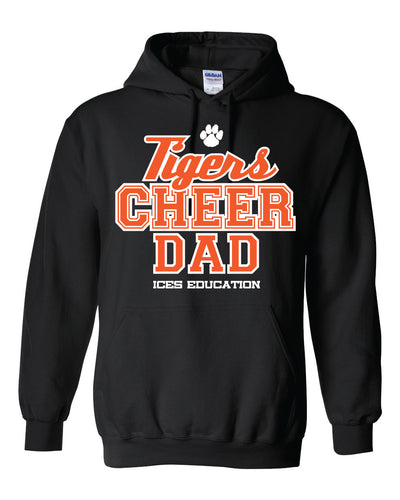 Eastmont Int. - Cheer - Black Hoodie - Cheer Dad