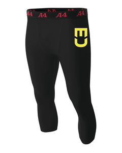 EU Men Pants Compression - Black Pants / Men Size Available