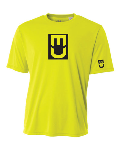 EU Drifit - Safety (Neon) Green Short Sleeve / Men and Youth Sizes Available