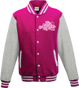 VARSITY / LETTERMAN WOMEN JACKET  - LOS ANGELES LUV
