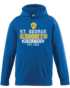 St. George -Royal Blue Drifit - ATHLETIC VINTAGE LOOK **