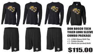 DON BOSCO TECH - FOOTBALL LONG SLEEVE PACK COMBO