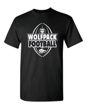 Load image into Gallery viewer, WOLFPACK FOOTBALL - PRIDE SHIRT - BLACK SHIRT