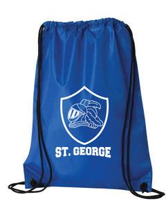 St. George -Royal Blue DRAWSTRING BAG***