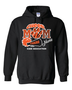 Eastmont Int. - Cheer - Black Hoodie - Cheer Mom