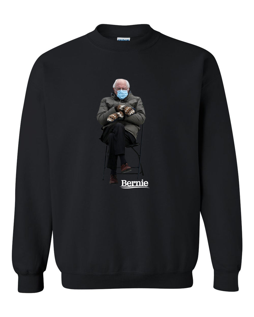 BERNIE - CREWNECK SWEATER - BLACK SWEATER 2021