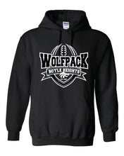 Load image into Gallery viewer, WOLFPACK FOOTBALL - HONOR HOODIE - BLACK