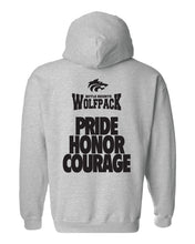 Load image into Gallery viewer, WOLFPACK FOOTBALL - HONOR HOODIE - GRAY