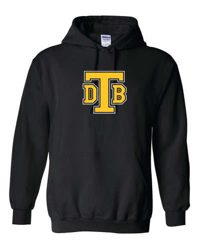 Don Bosco Tech - Hoodie Sweatshirt Black with Gold