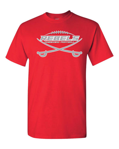 ROSEMEAD REBELS - TSHIRT CREWNECK 2019 - RED
