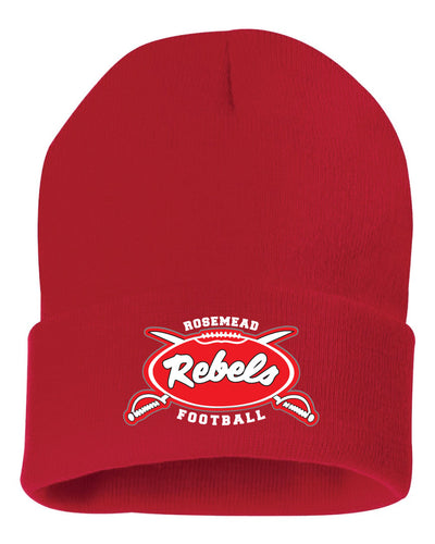 ROSEMEAD REBELS 2019 - RED - BEANIE