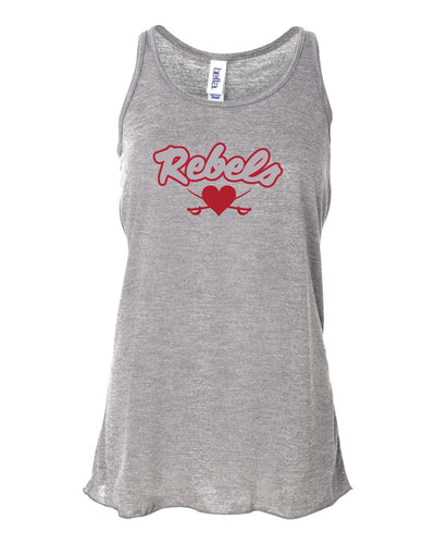 ROSEMEAD REBELS -LADY TANKTOPS2019 - GRAY