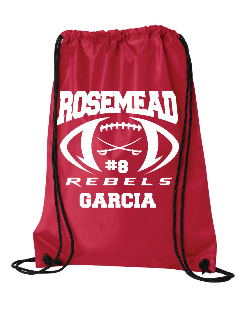 Rosemead Rebels -Red DRAWSTRING BAG 2019*** with name and numbers included
