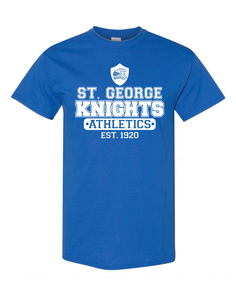 St. George School Tshirt Cotton Crewneck