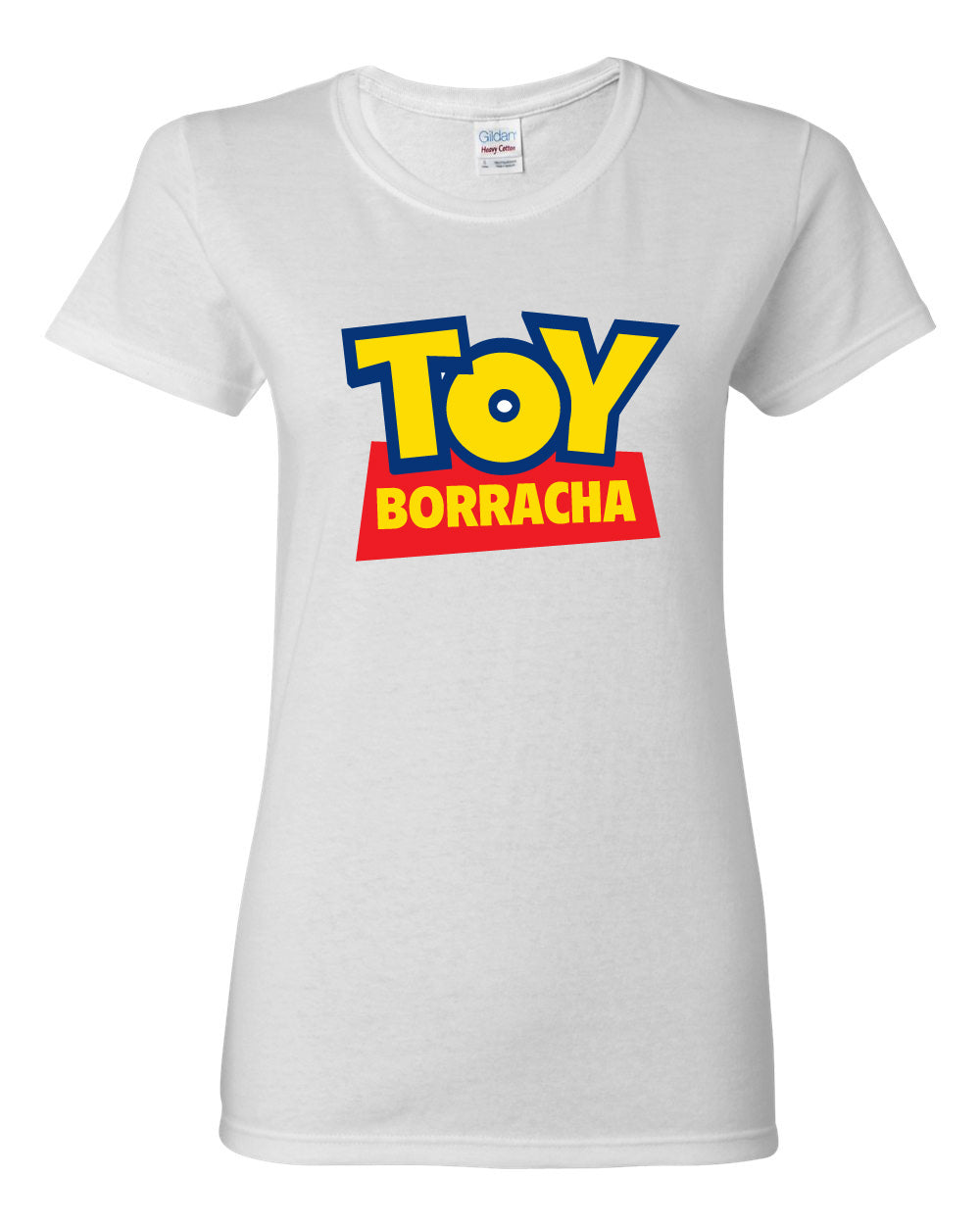 Toy Borracha Tshirt - Women White Tee