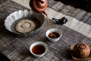 seattle tea shop, Pu'er tea, fermented tea, Pu'er tea taste, dark tea, Chinese tea ceremony